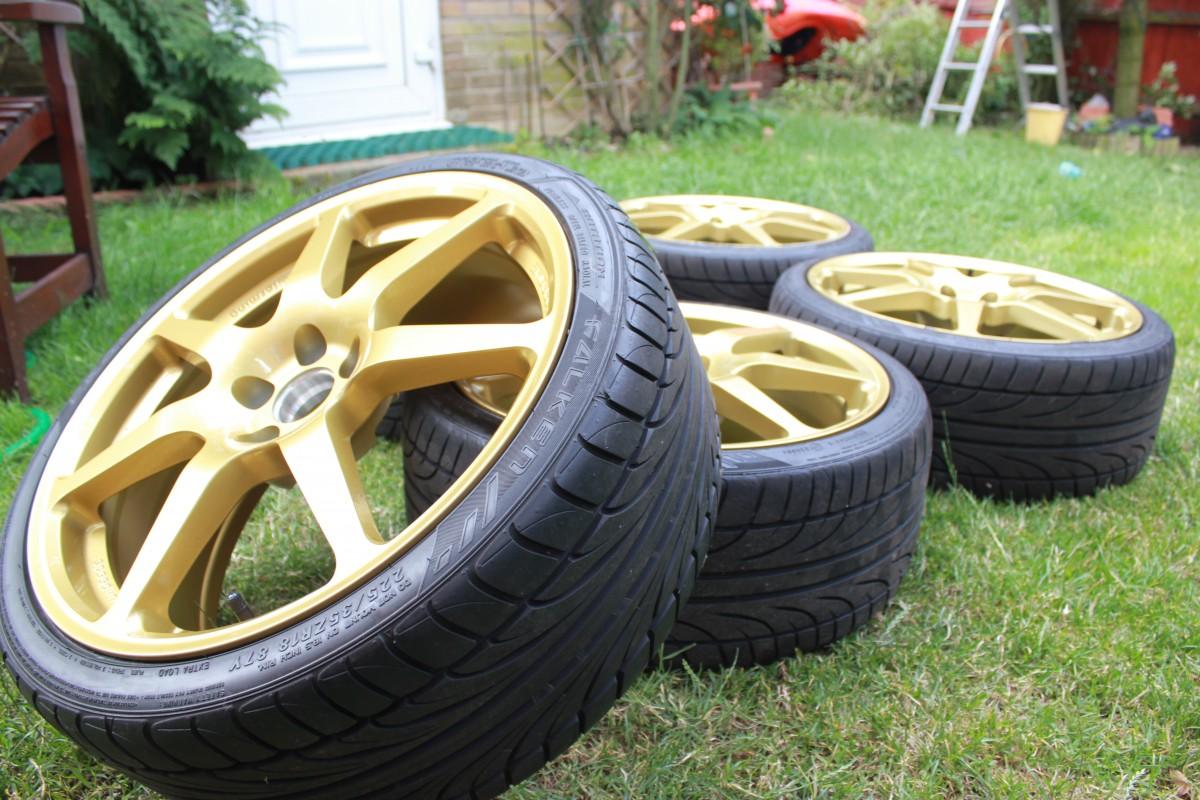 Prodrive PFF7 Speedline Alloy Wheels - A Closer Look | Jay ...