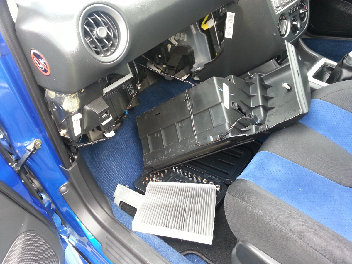 Removing And Inspecting The Subaru Cabin Filter In Tank Fuel Filters