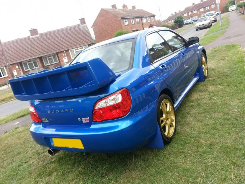 Fitting Genuine Sti Spoiler Wing To My Impreza on car audio installation