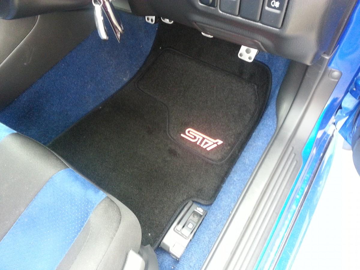 Tailored Sti Floor Mats Subaru Impreza Wrx Sti Type Uk