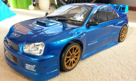 Subaru Impreza RC Car Build Project