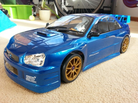 Impreza RC Car Build Project