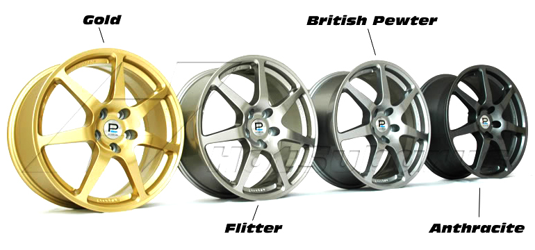 Prodrive PFF7 Alloy Wheel Colours