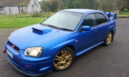 Subaru Impreza Tinted Windows