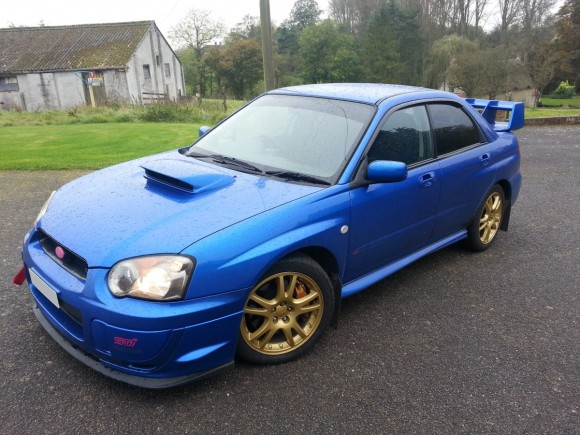Impreza Tinted Windows