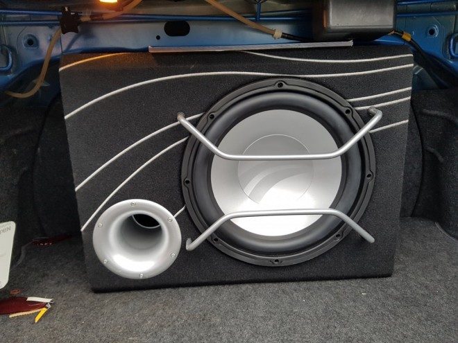Rainbow Cyclone Subwoofer